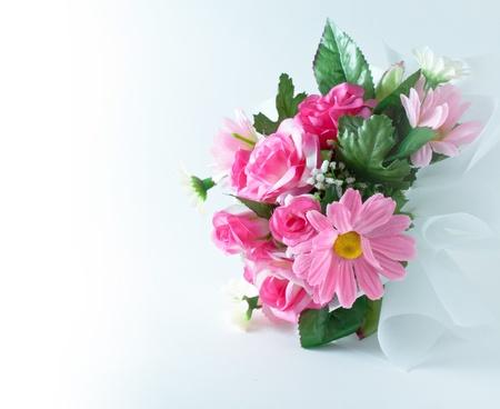 counterfeit: bouquet of  counterfeit flowers