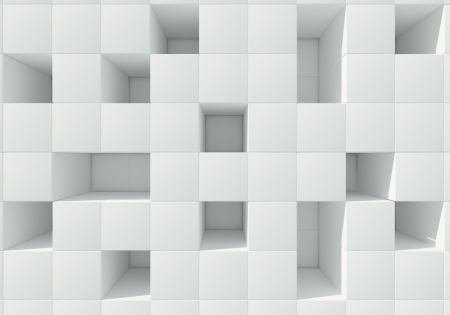 infinitely: abstract image of cubes background