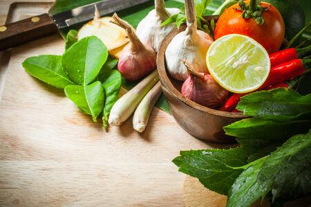 vegetable of food for tom yum element Stockfoto