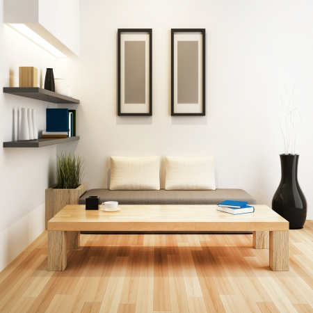Living room of interior design photo