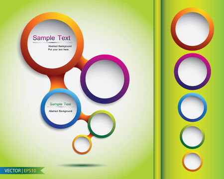 Abstract web bubble design, vector Vector