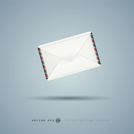 missive: The letter illustration created
