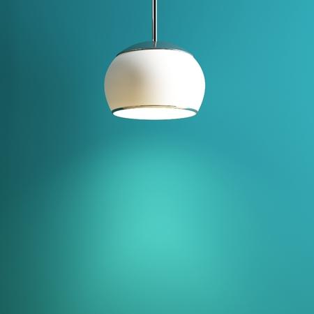 lamp of interior creative conception Stok Fotoğraf