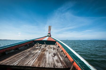 libertad: la conducci�n de un barco de madera en el mar, la concepci�n libertad