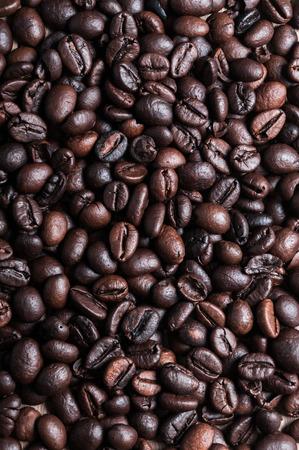 planta de cafe: fondo de los granos de caf� Foto de archivo