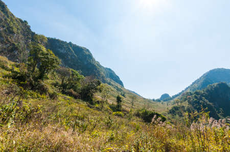 dao: Mountain of Doi Luang Chiang Dao natural park Landscape Stock Photo