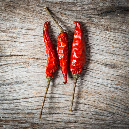 red chilli: red chilli on wooden background