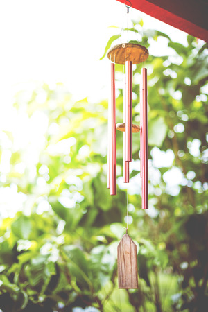wind chime: Closeup of Wind Chime