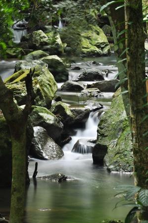 eravan: waterfall in  thailand