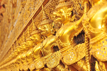 grand design: garuda in bangkok Stock Photo