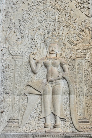 apsara: apsara in cambodia Stock Photo