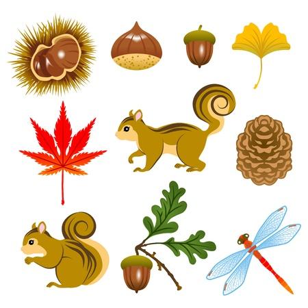 가을의 이미지 일러스트