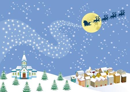 クリスマスの夜 写真素材 - 11217194