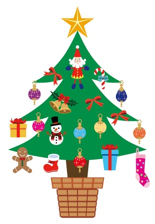 christmas tree Stock Vector - 11217166