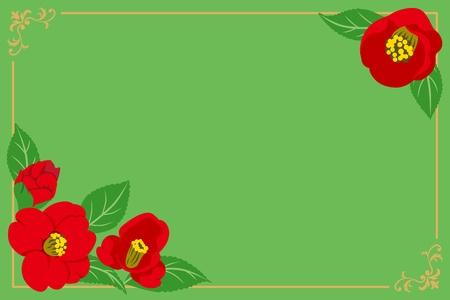 camellia frame Stock Vector - 11217160