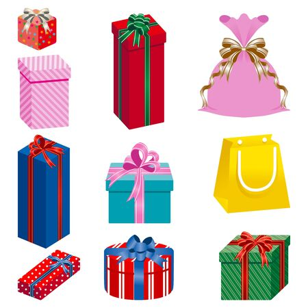 gift set separately Stock Vector - 11217163