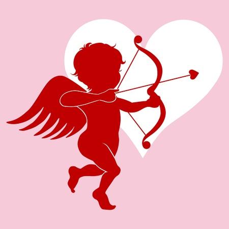 Cupido Ilustración de vector