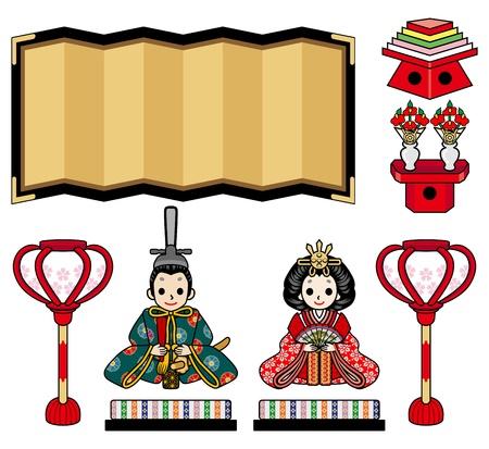 emperor: Illustration of  Hina Doll