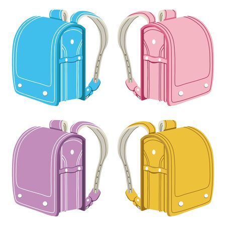 school bags: Japanese elementary school bags