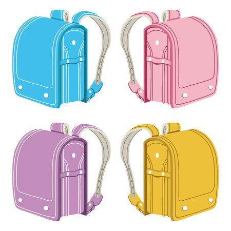 elementary school: Japanese elementary school bags