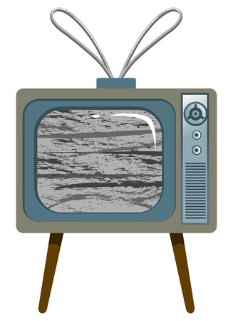 Old-style TV Vector