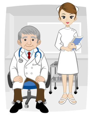 practitioner: Doctors and nurse
