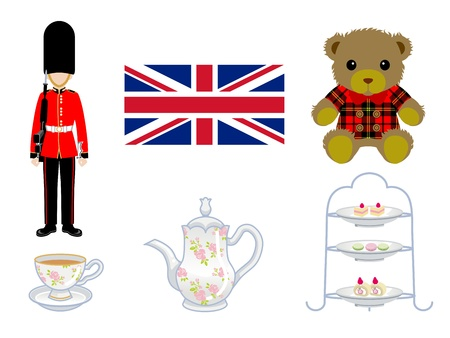 afternoon tea: British Goods
