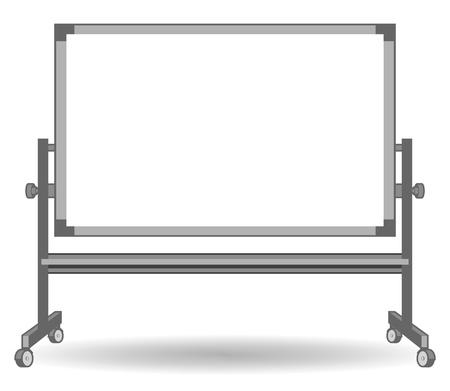 whiteboard: Whiteboard Stock Illustratie