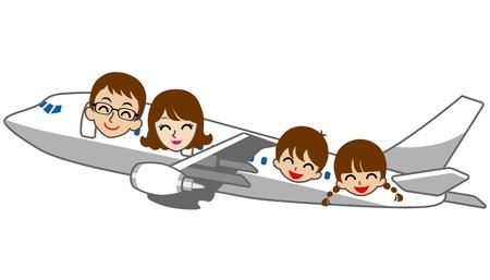 familia viaje: Viajar en Familia Aislado En Blanco
