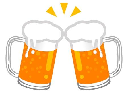 beer stein: Toast with Beer