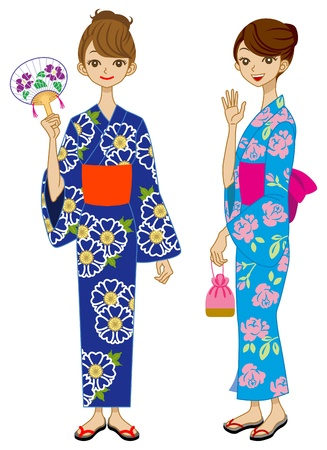 Two Yukata Girls