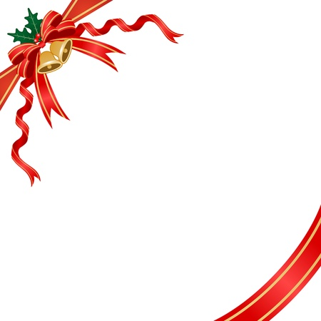 Christmas decoration,ribbon and bell
