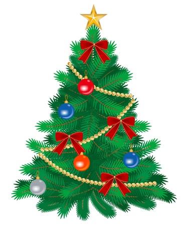 Kerstboom decoratie