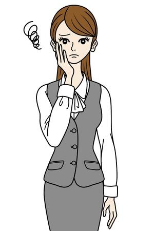 sullen: Sullen Office Lady
