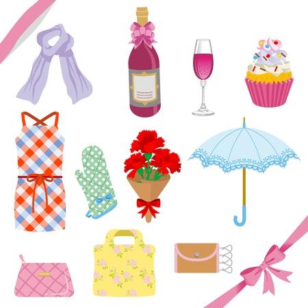 pot holder: Mother s Day gift set