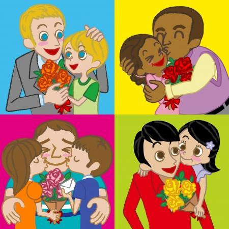 familia asiatica: Varios Padre e hijos, imagen Happy Father s Day