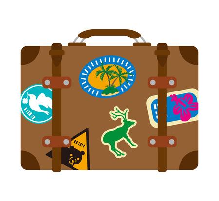 travel bag: Luggage, Isolated