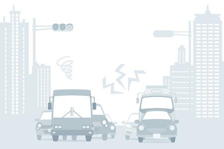 car traffic: Traffic Jam