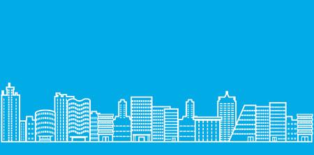 都市の景観線図