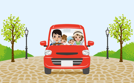 Driving Family car