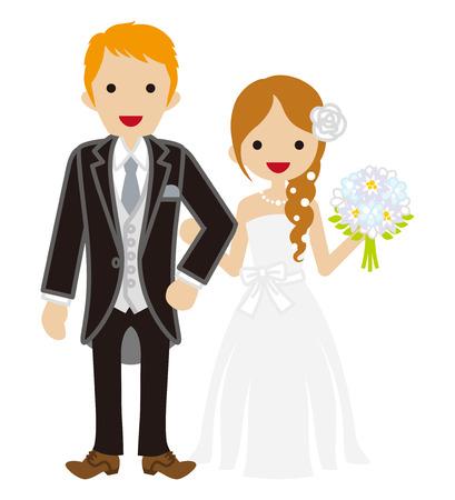 braid: Wedding-Heterosexual Couple - Braid hair