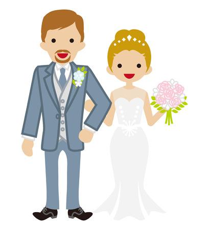 wedding-Heterosexual Couple-Updo hair Bride