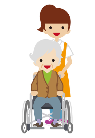physical impairment: Female Caregiver