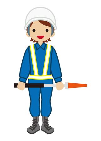 warden: Female Traffic Warden