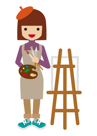 painter: Female Painter