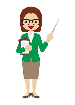 Insegnante femminile
