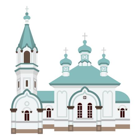 russian orthodox: Hakodate Russian Orthodox Church Illustration