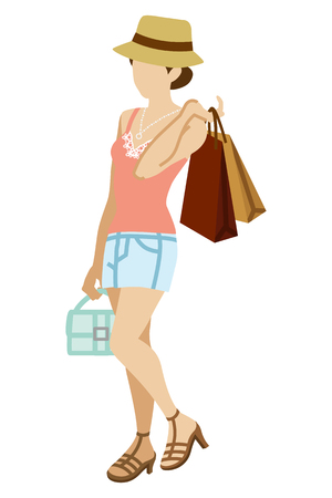 camisole: Shopping Woman - Summer fashion