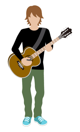 Male Musician -Guitar