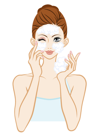 Washing Face Skin Care